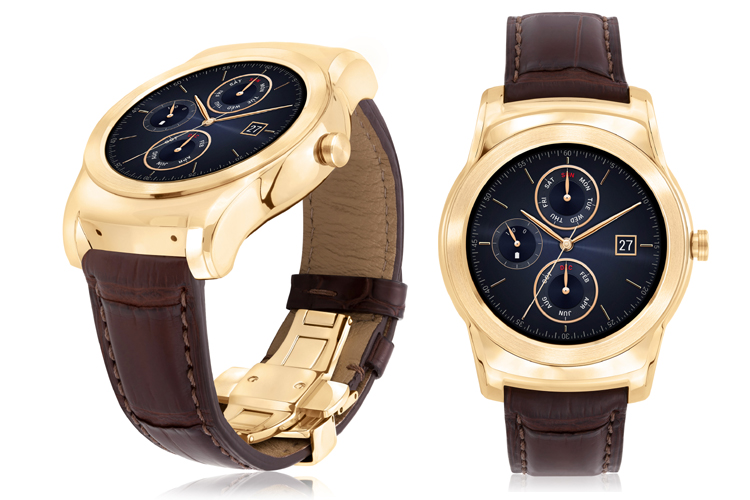 LG unveils limited edition Watch Urbane Luxe premium smartwatch in 23-karat gold