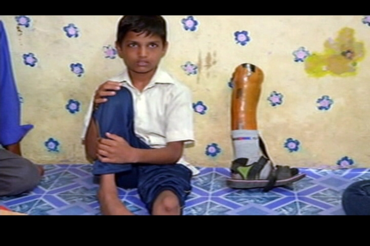 Medical negligence leaves 10-year-old boy handicapped for life