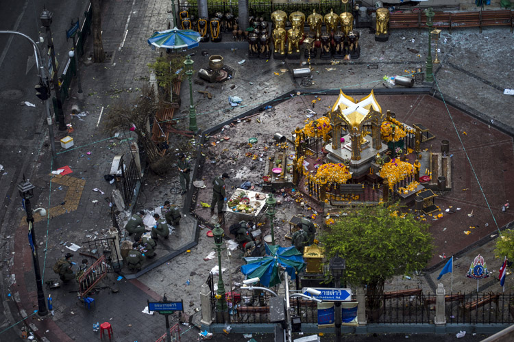 Foreigner resembling prime suspect in Thailand bombing arrested