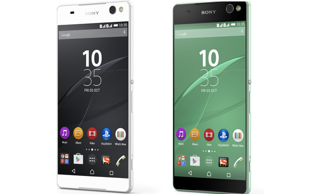Sony Launches Xperia C5 Ultra With 6-inch Near Borderless