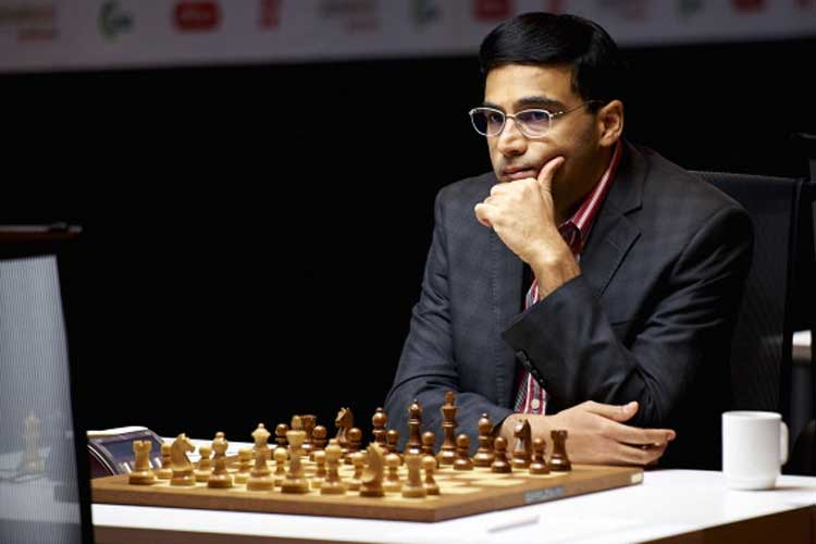 Viswanathan Anand draws with Anish Giri in Sinquefield Cup