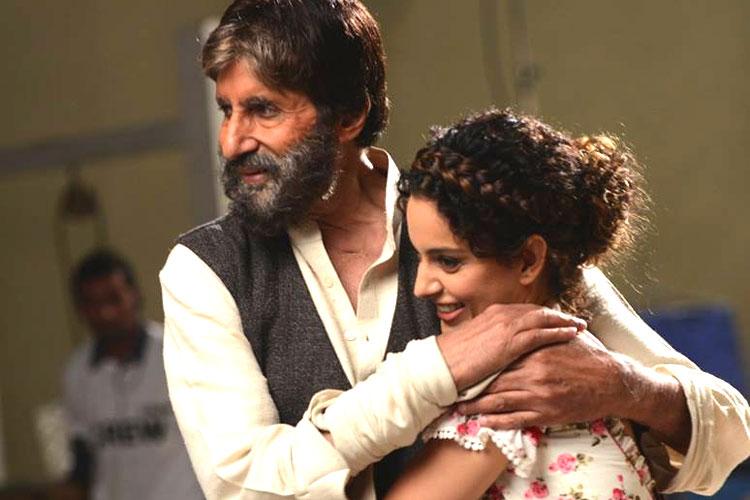 Kangana is talented and wonderful: Amitabh Bachchan
