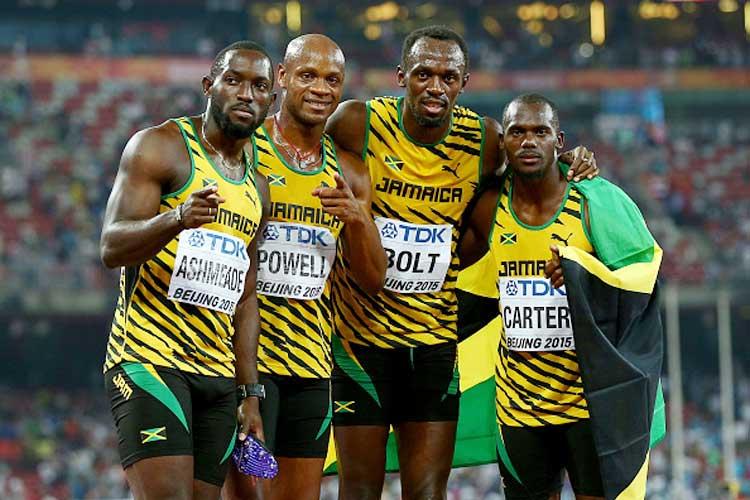 Usain Bolt anchors Jamaica to 4x100 metres relay gold