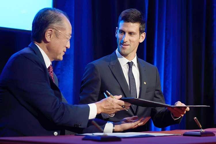 UNICEF appoints Novak Djokovic as global goodwill ambassador