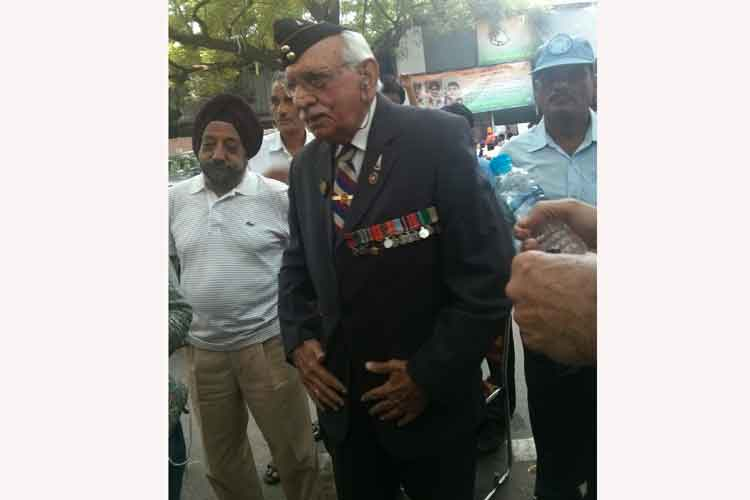 85-year-old 1965 war hero Brig DP Nayar soldiers on, flays government for delaying One