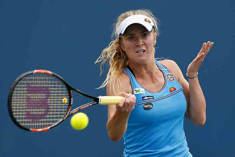 Elina Svitolina advances in Bank of the West Classic