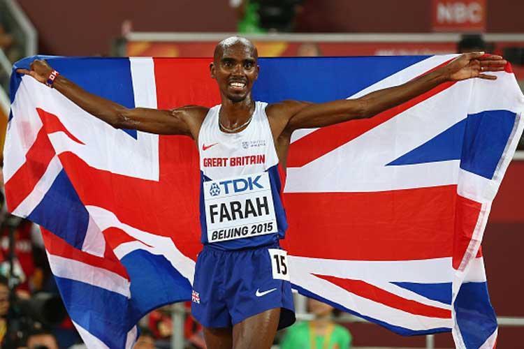 Mo Farah wins historic World Championships 5000 metres gold
