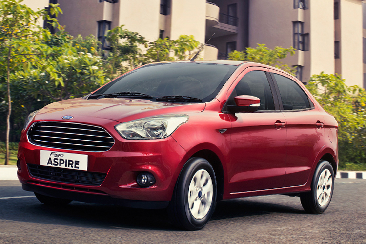 Ford Figo Aspire Launches New Sedan Car At Rs 489 Lakh In India