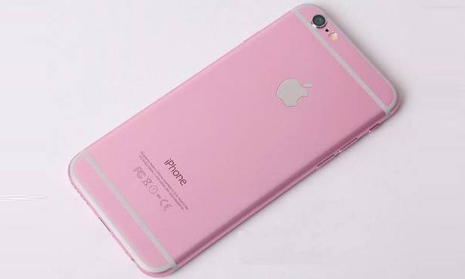 is this the rose gold iphone 6s apple would unveil on september 9 news18. Black Bedroom Furniture Sets. Home Design Ideas