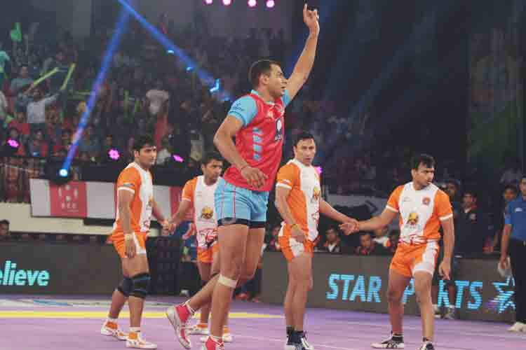 Pro Kabaddi: Jaipur Pink Panthers register second win