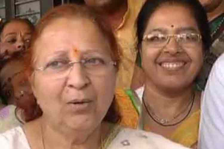 A caring mother sometimes has to be strict: Lok Sabha Speaker Sumitra Mahajan