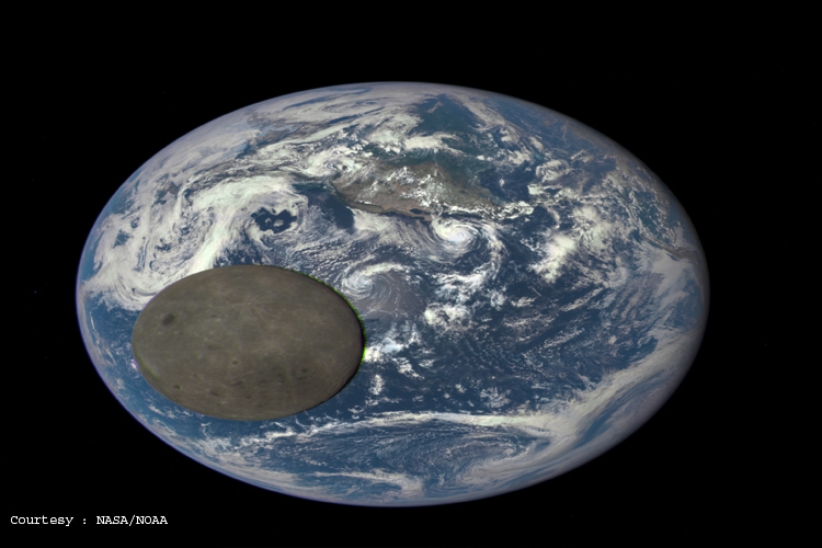 nasa reveals dark side of moon - photo #1