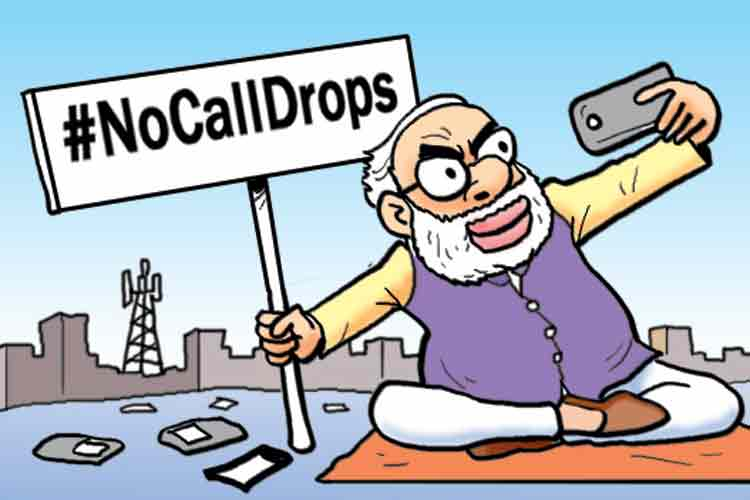 Cartoon Of The Day Pm Modi Voices Concern Over Call Drop