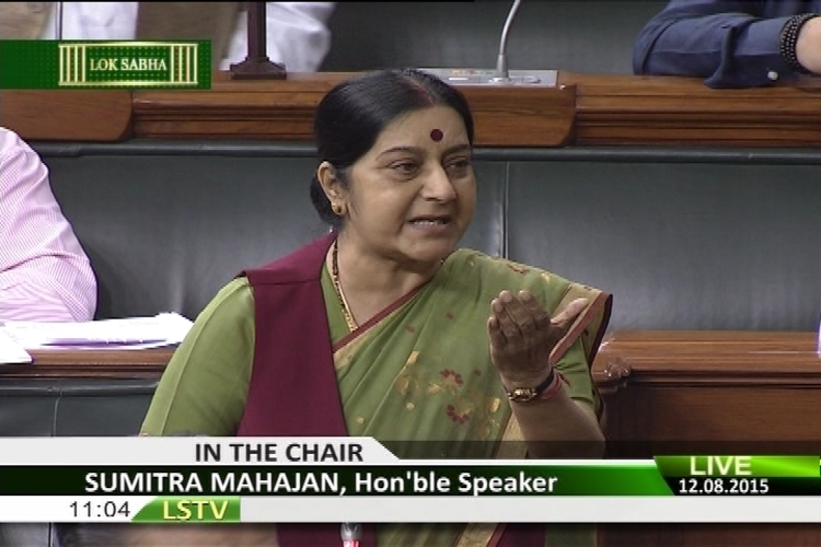 'This is How Meira Kumar Treated Me': Sushma Swaraj Tweets Lok Sabha Video