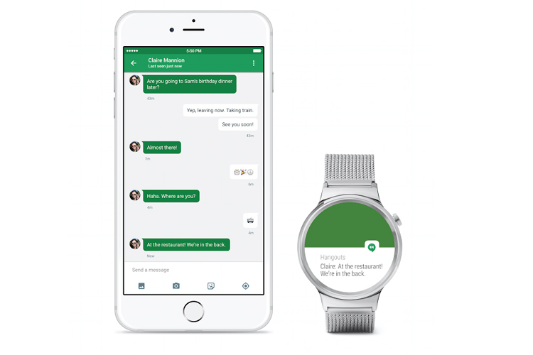 Google now lets you pair your Android Wear smartwatch with an iPhone