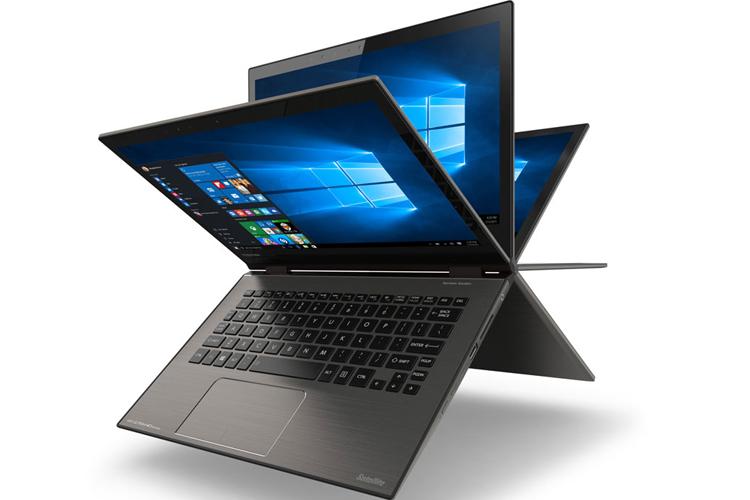 Toshiba unveils convertible laptop with 4K display, Windows 10 Hello, USB Type-C