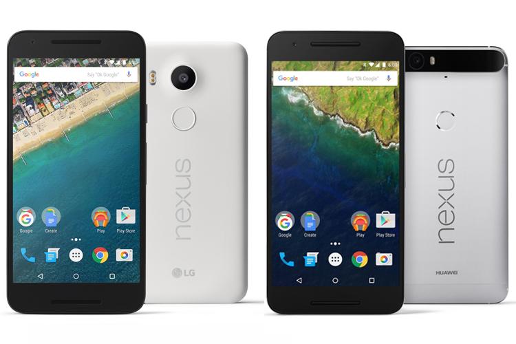 LG Nexus 5X, Huawei Nexus 6P: Google launches new Nexus phones with fingerprint sensor, Android ...