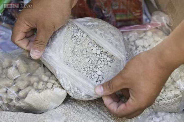 40 pouches of narcotic substance recovered from woman's body