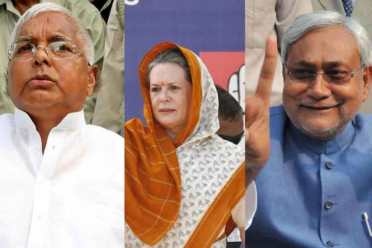 Mahagathbandhan announces seat sharing ; RJD, JDU to fight on 101 seats each, Congress gets 41 - News18
