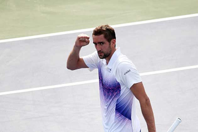 Marin Cilic begins US Open defence with victory over Guido Pella