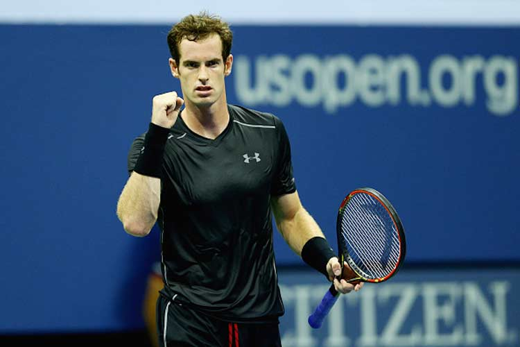 Composed Andy Murray swats aside Nick Kyrgios to reach second round of US Open