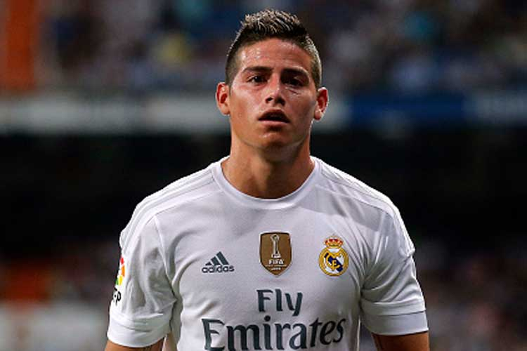 real madrid s james rodriguez trashes unfit rumours   news18