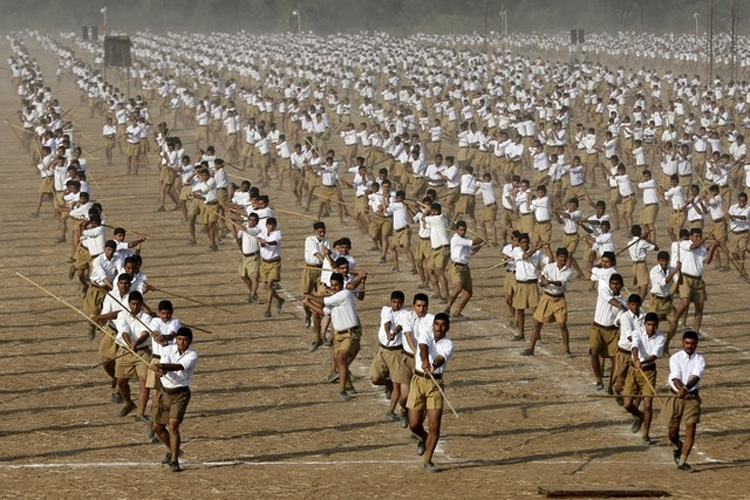 Rss: India Can Continue Talks With Pakistan With A Strong Stand
