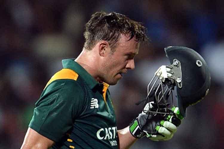 AB de Villiers Breaks Sourav Ganguly