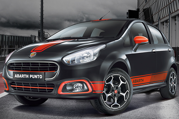 fiat launches abarth punto avventura in india both priced at rs lakh news18. Black Bedroom Furniture Sets. Home Design Ideas
