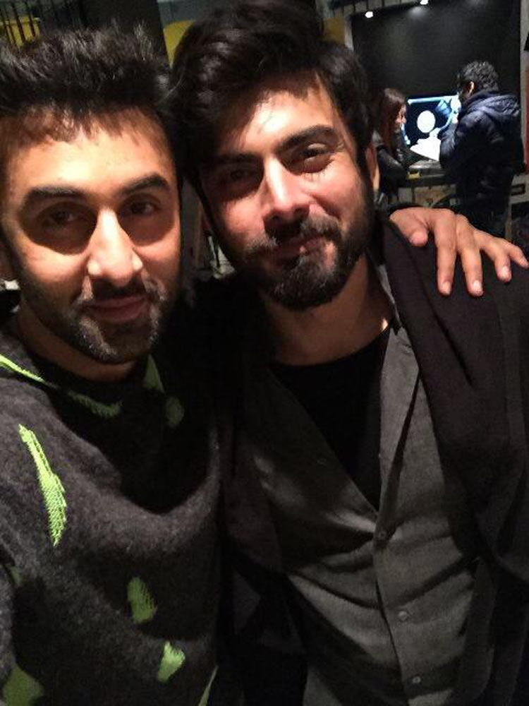 Too Much Hotness In One Frame Ranbir Kapoor And Fawad