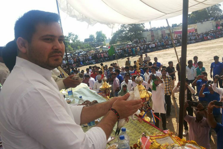 Leaders of Grand Alliance Should Maintain Restraint: Tejashwi Yadav