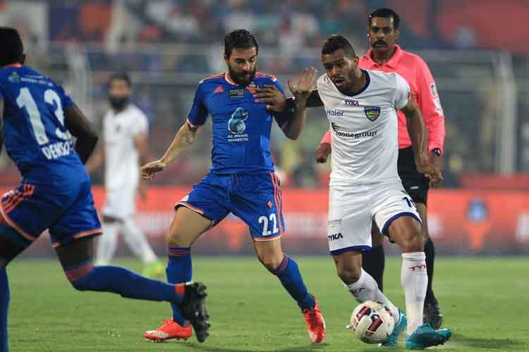 File Image of Chennayin Fc vs FC Goa. (ISL)