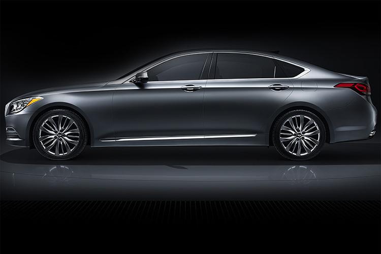 hyundai to unveil self driven genesis luxury sedan in december news18. Black Bedroom Furniture Sets. Home Design Ideas