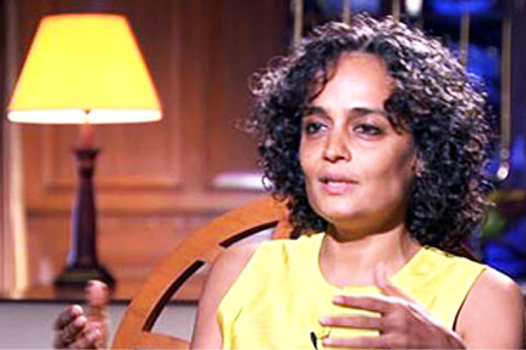 the ways in which arundhati roy In an exclusive interview, writer arundhati roy said there are serious concerns about the jan lokpal bill, corporate funding,  that's gandhian in some ways,.