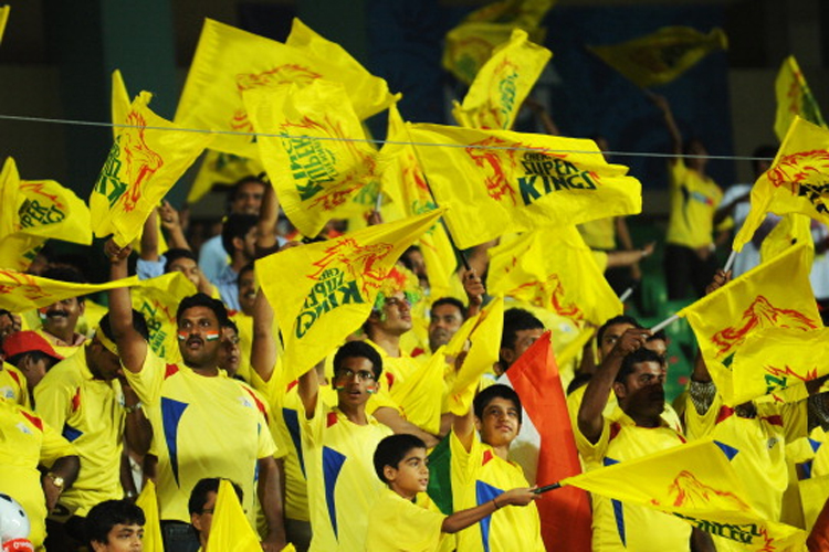 A file photo of CSK fan. (Getty Images)