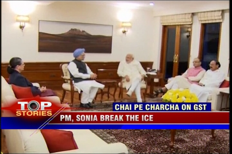 News360: PM, Sonia break the ice, hold GST Bill talks