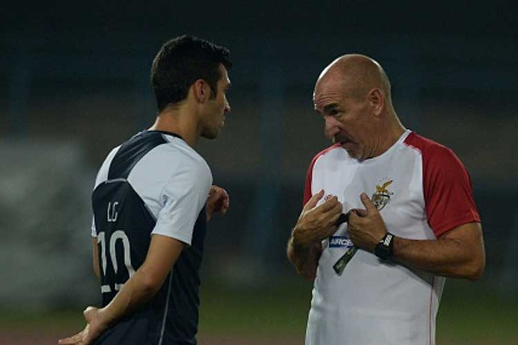 Habas says Chennaiyin FC is a very competitive team and his team needs to play smartly in the first-leg semi-final in Pune on Saturday. (Getty Images)