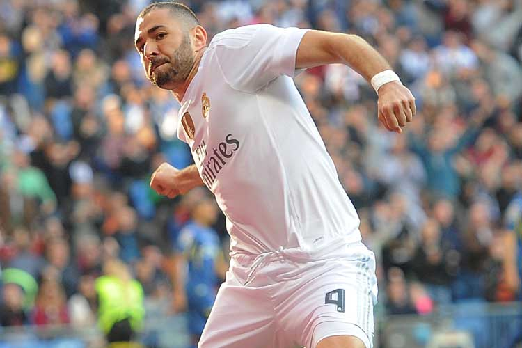 Image result for karim benzema getty