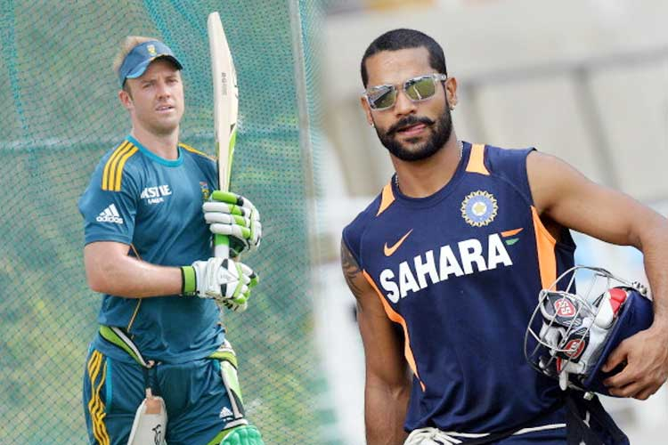 Shikhar Dhawan and AB de Villiers are similar kind of players: Ravi Shastri