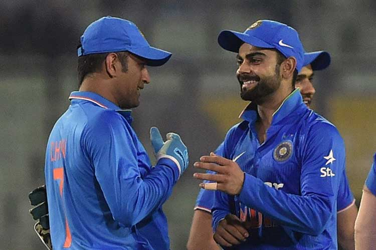 Virat Kohli Receives Special Gift From MS Dhoni After Beating England