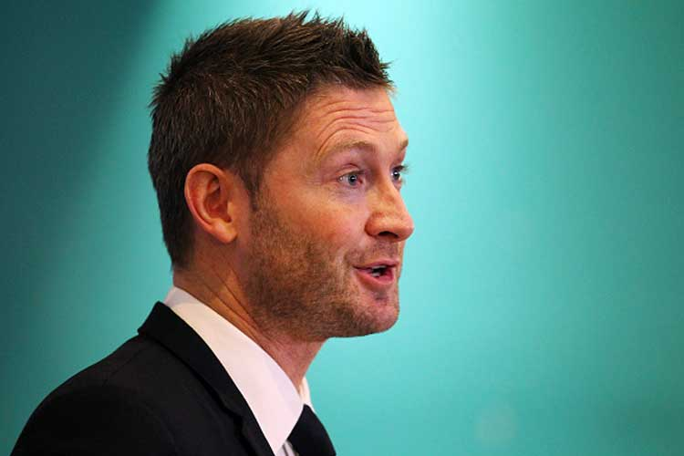 Michael Clarke.  (Getty Images)