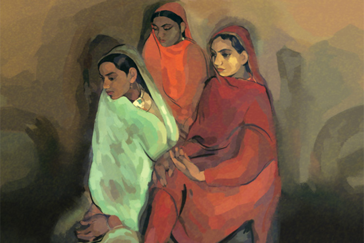 On Amrita Sher-Gil's 103rd birthday Google doodles the 'Three Girls'