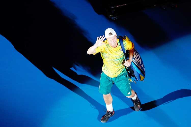 Lleyton Hewitt's 'awkward' win keeps career alive