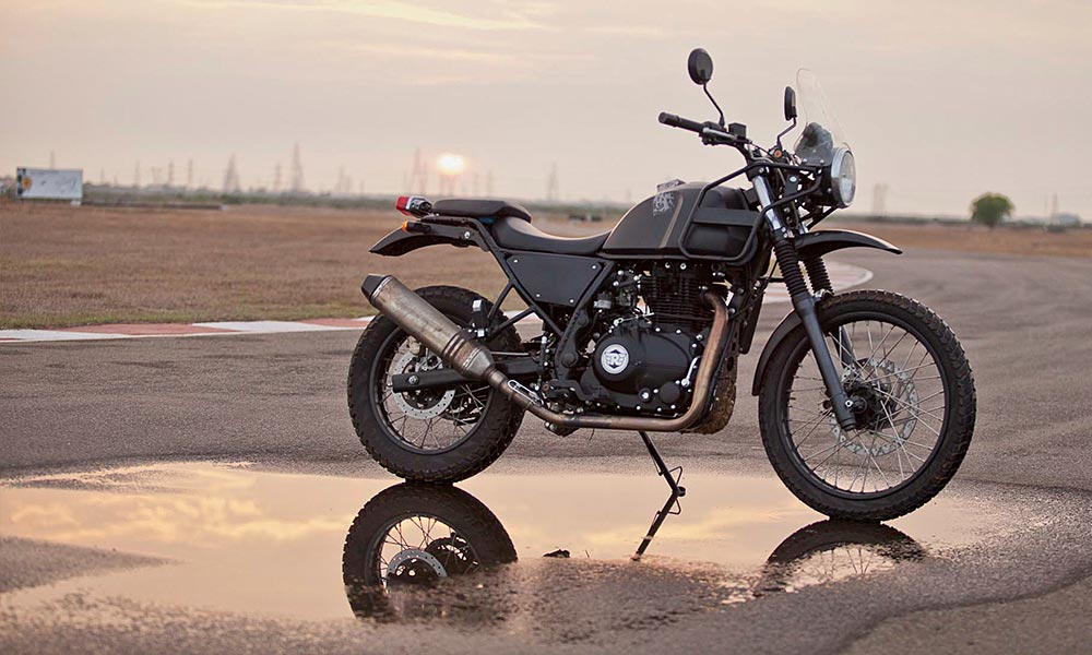 Royal Enfield All Set To Unleash The Himalayan A Brand