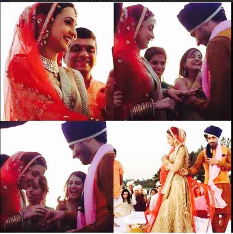 Inside Photos Sanaya Irani Mohit Sehgals Wedding Celebrations