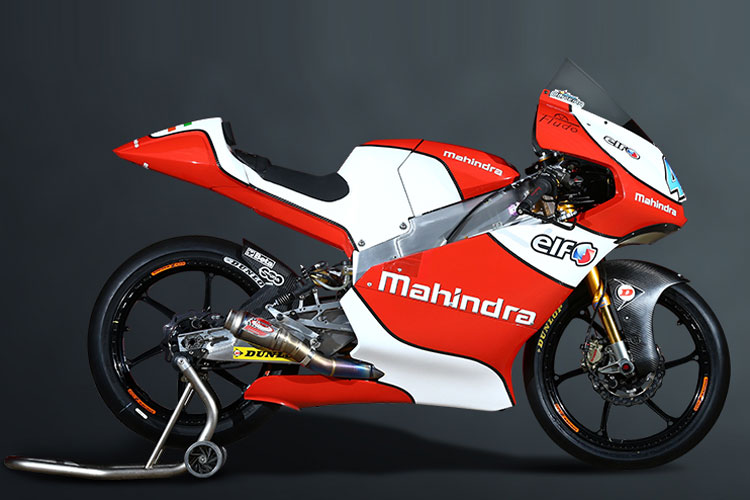 Mahindra Launches Racing Bike New Electric Two Wheeler At