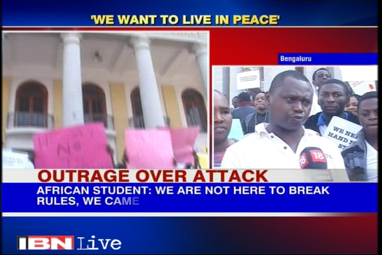 Tanzanian woman attack: Want police to provide safety to all African students, say protestors