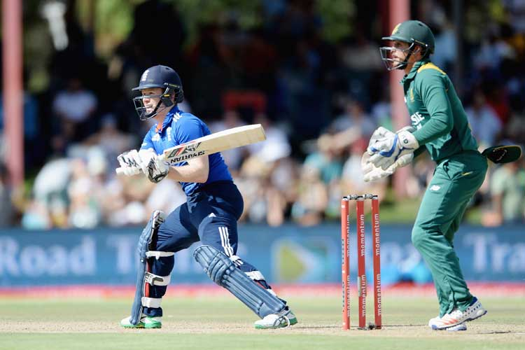 Live Score, 4th ODI: Alex Hales, Joe Root steady England against South Africa
