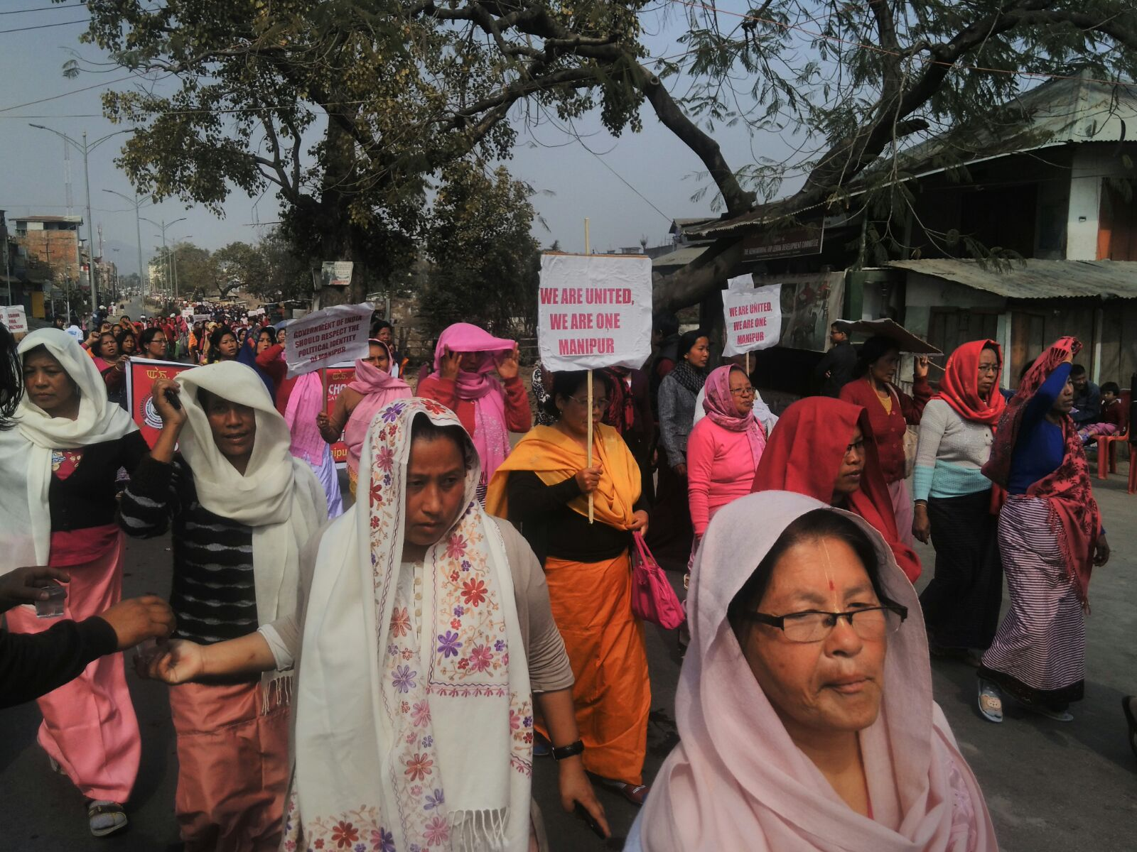 Massive rally in Imphal protests 'bid to disunite' Manipur people