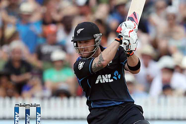 Big-hitting Brendon McCullum joins 200 ODI sixes club